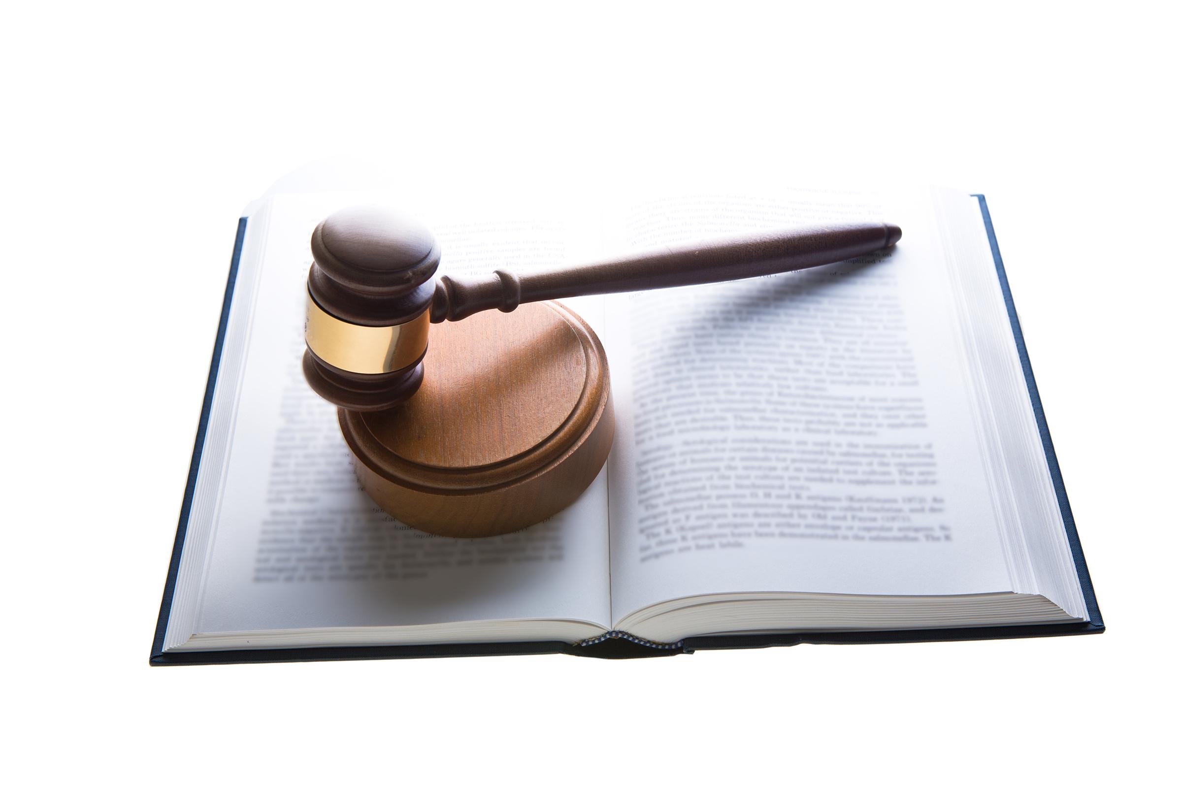 法律とガベル